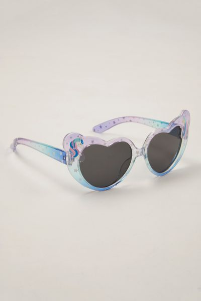Heart Shape Unicorn Sunglasses