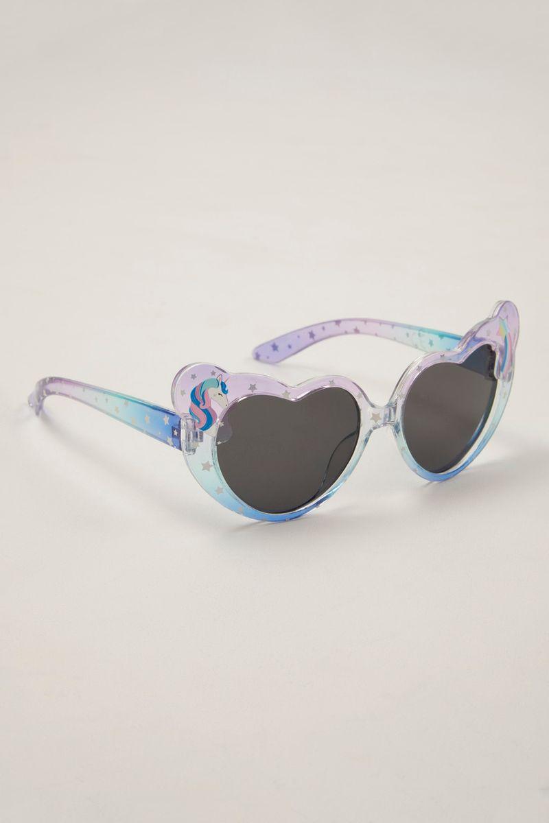 Heart Shape Unicorn Sunglasses