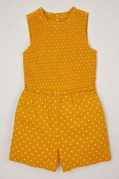 Ochre Spot playsuit