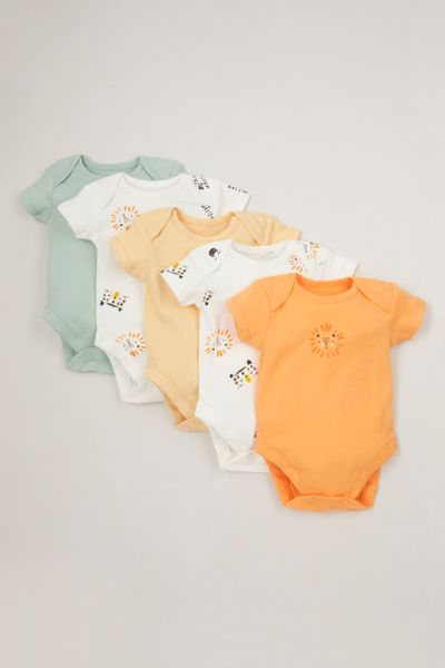 5 Pack Animal bodysuits