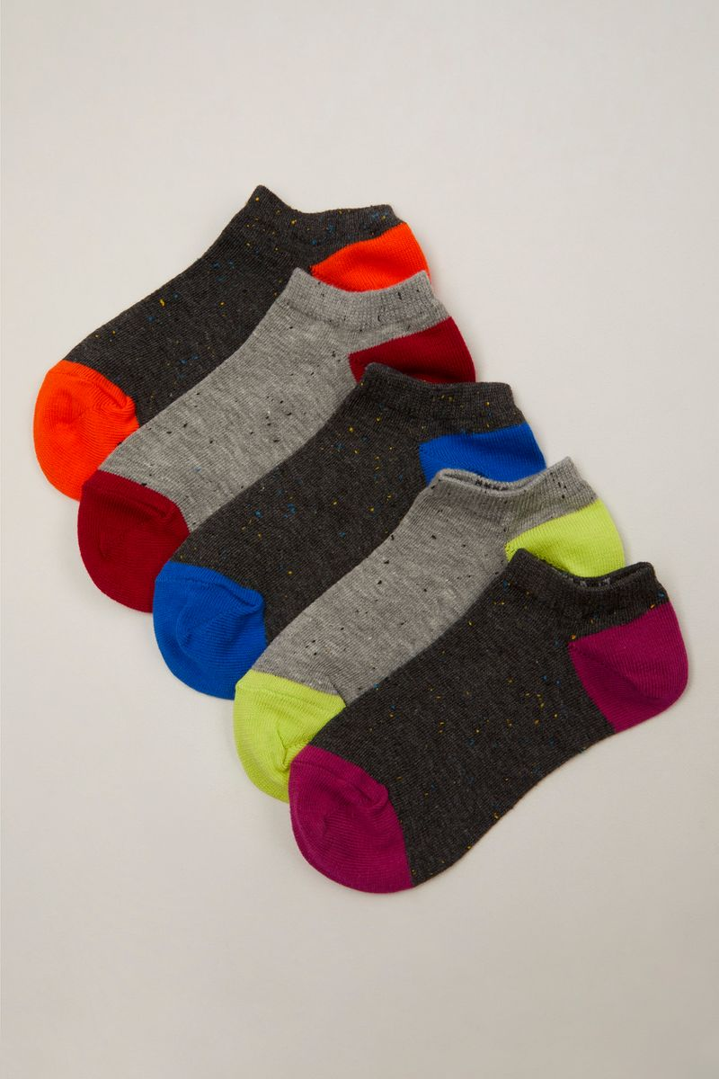 5 Pack Grey Trainer Liners