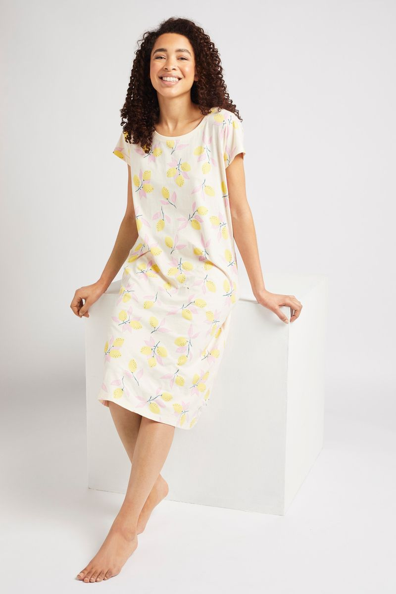 Lemon Print Nightie