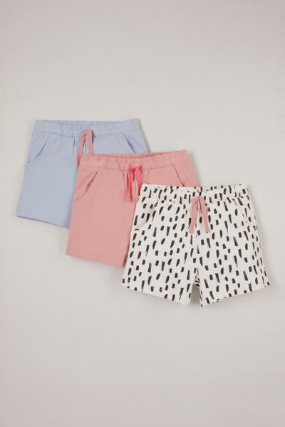 3 Pack Pastel Jersey shorts