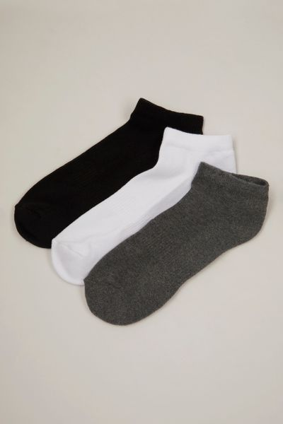 3 Pack Cushion Sole Trainer Liners