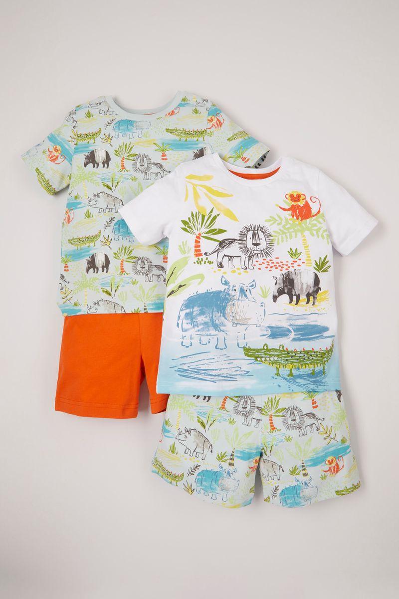 2 Pack Safari Pyjamas