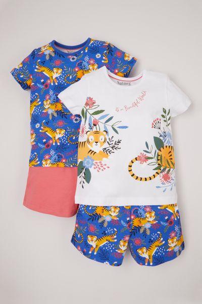 2 Pack Tiger Pyjamas