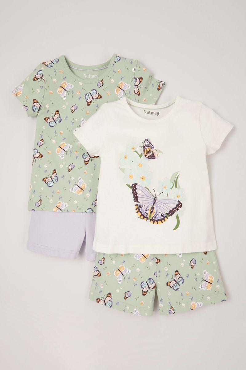 2 Pack Butterfly Pyjamas