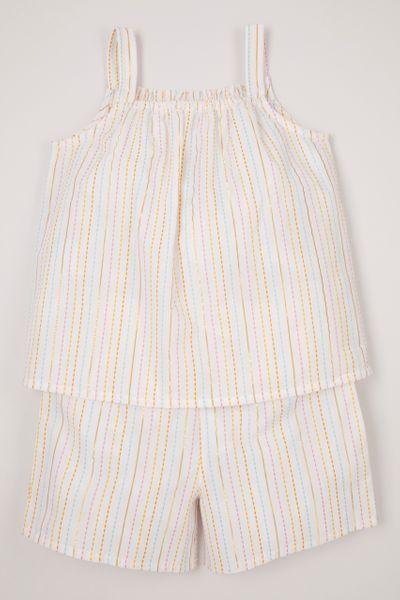 Woven Stripe Pyjamas