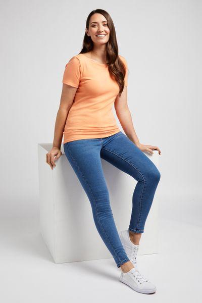 Short Sleeve Mango Bardot