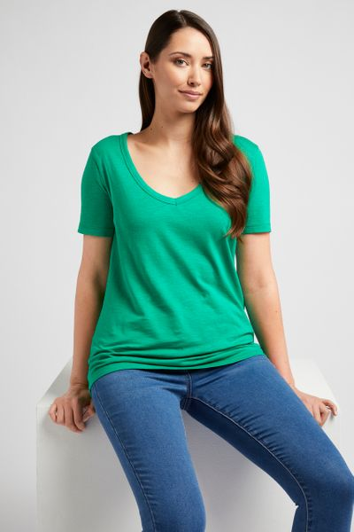 Green Loose Fit T-shirt