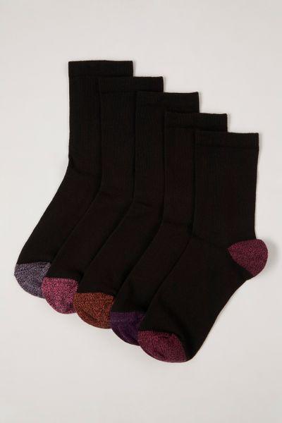 5 Pack Berry Twist Socks