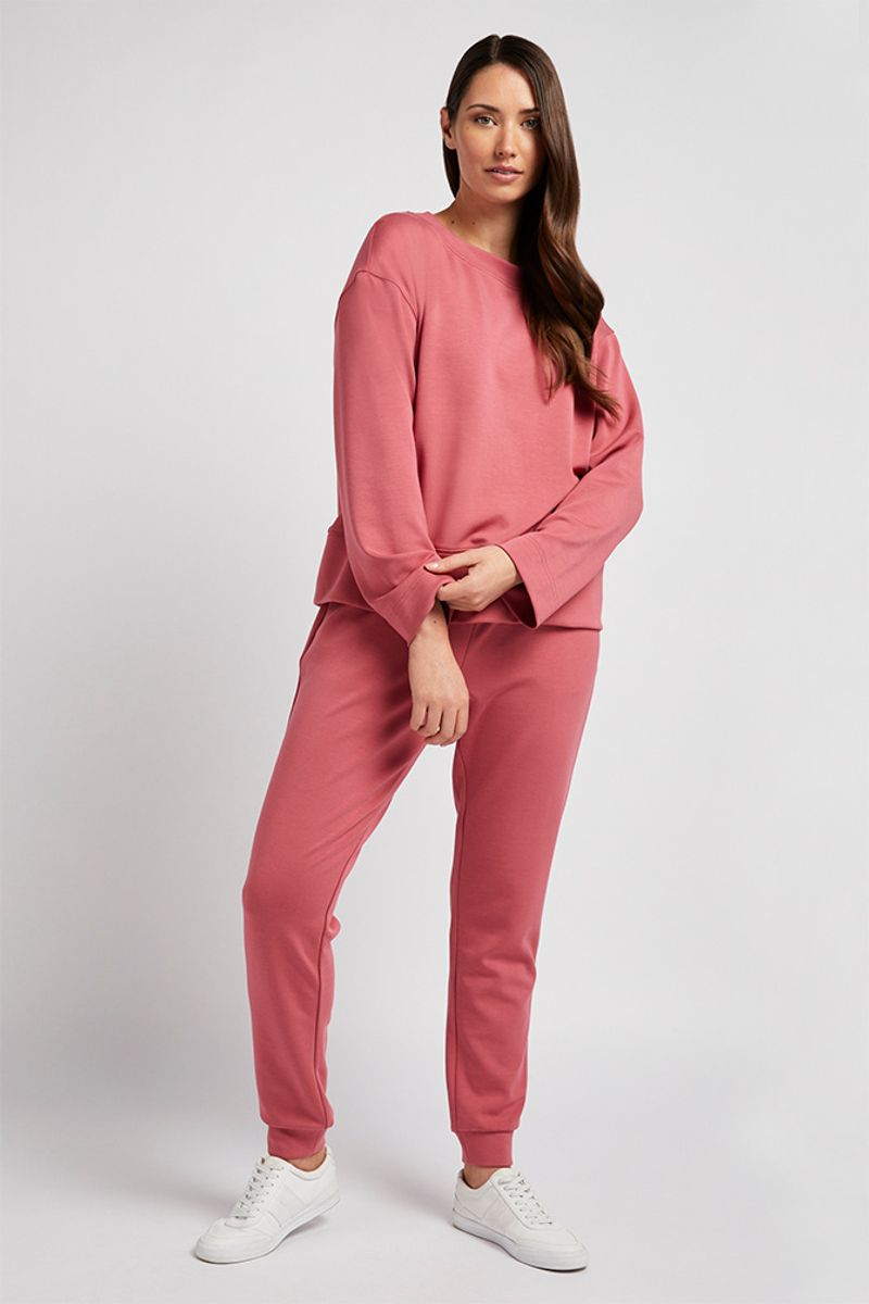 Pink Loungewear Co-ord Joggers