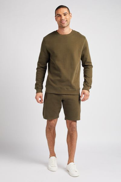 Khaki Sweat shorts