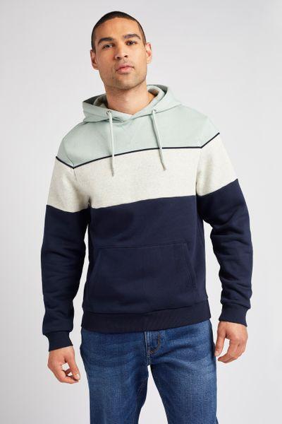 Overhead Colour Block hoodie