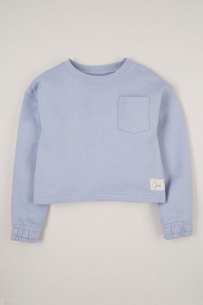 Blue Good Vibes sweatshirt