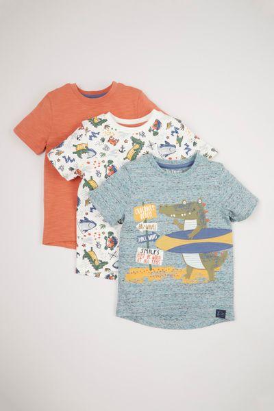 3 Pack Crocodile T-shirts