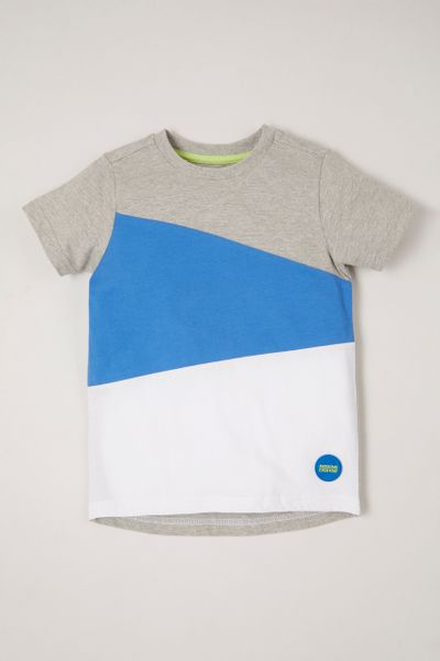 Colour block Awesome T-shirt