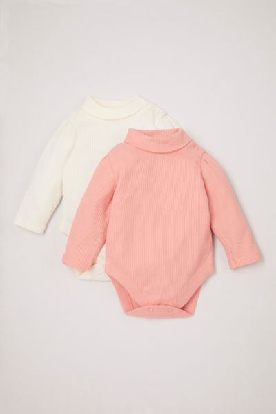 2 Pack Turtleneck bodysuits