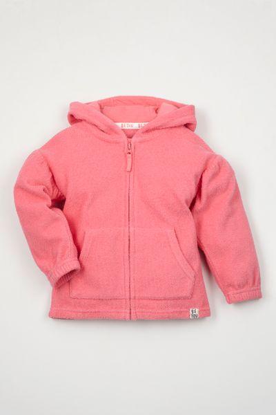 Pink Be You Toweling hoodie