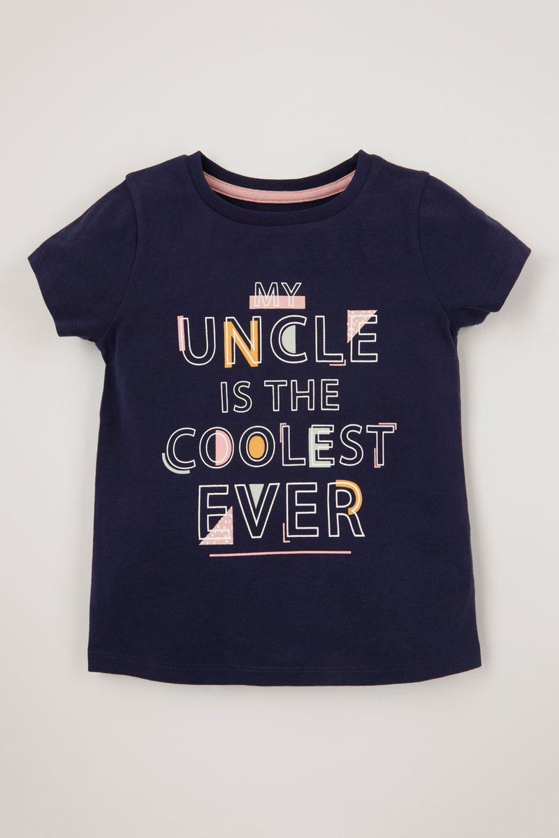 Navy My Uncle T-Shirt