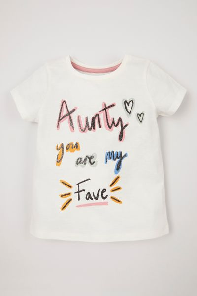 Aunty Slogan T-Shirt