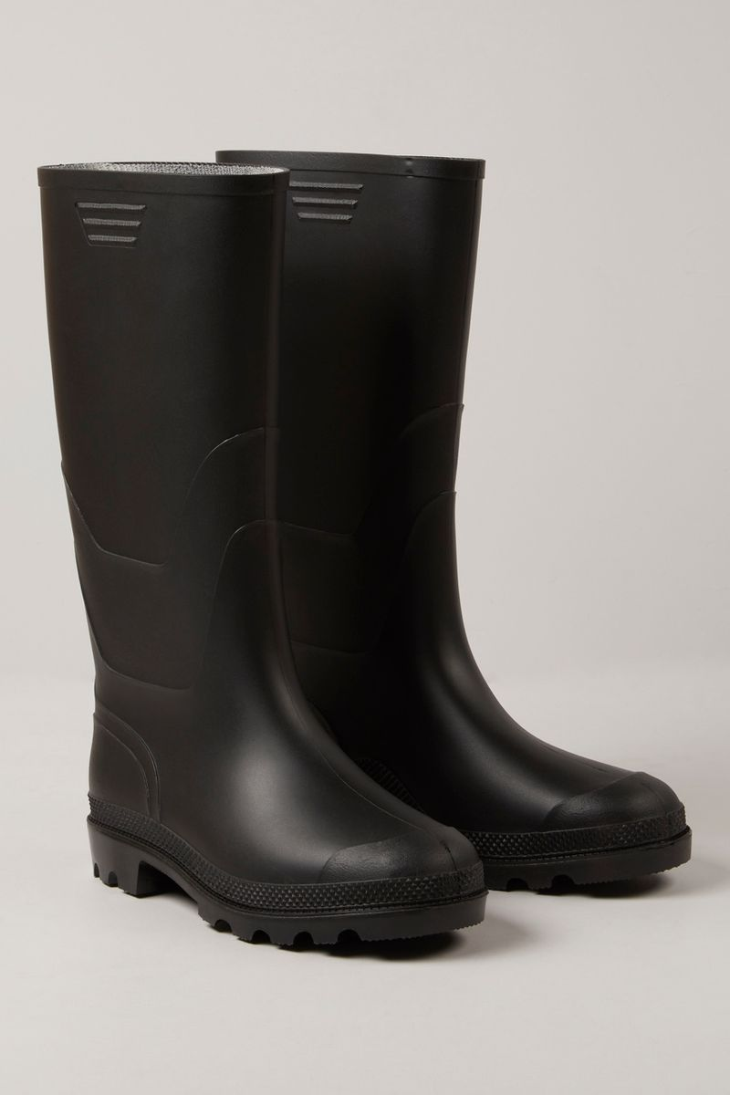 Mens Black Wellies