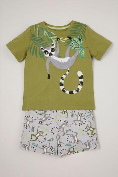 Lemur Print Pyjamas