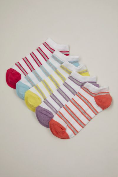 5 Pack Stripe Trainer Liners