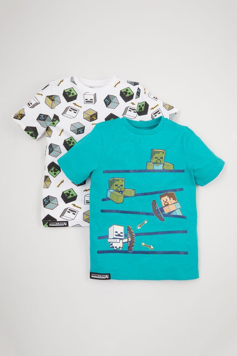 2 Pack Minecraft T-shirts