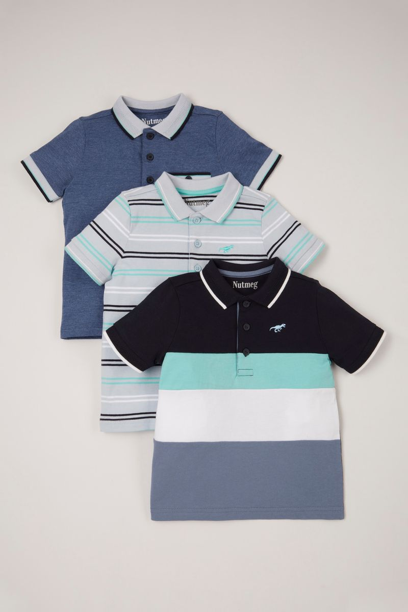 3 Pack Polo Shirts