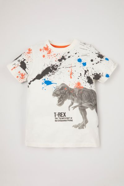 Paint Splatter Dinosaur T-shirt