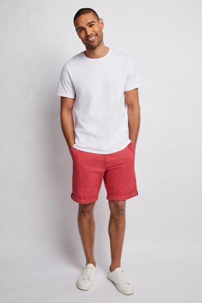 Dark Pink Chino shorts
