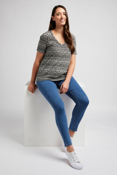 Loose Fit Aztec T-shirt