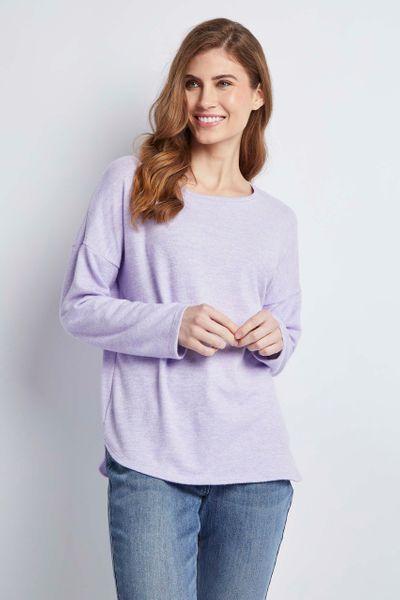 Lilac Cosy Top