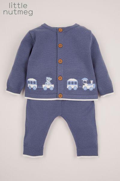 Little Nutmeg Knitted Train Set