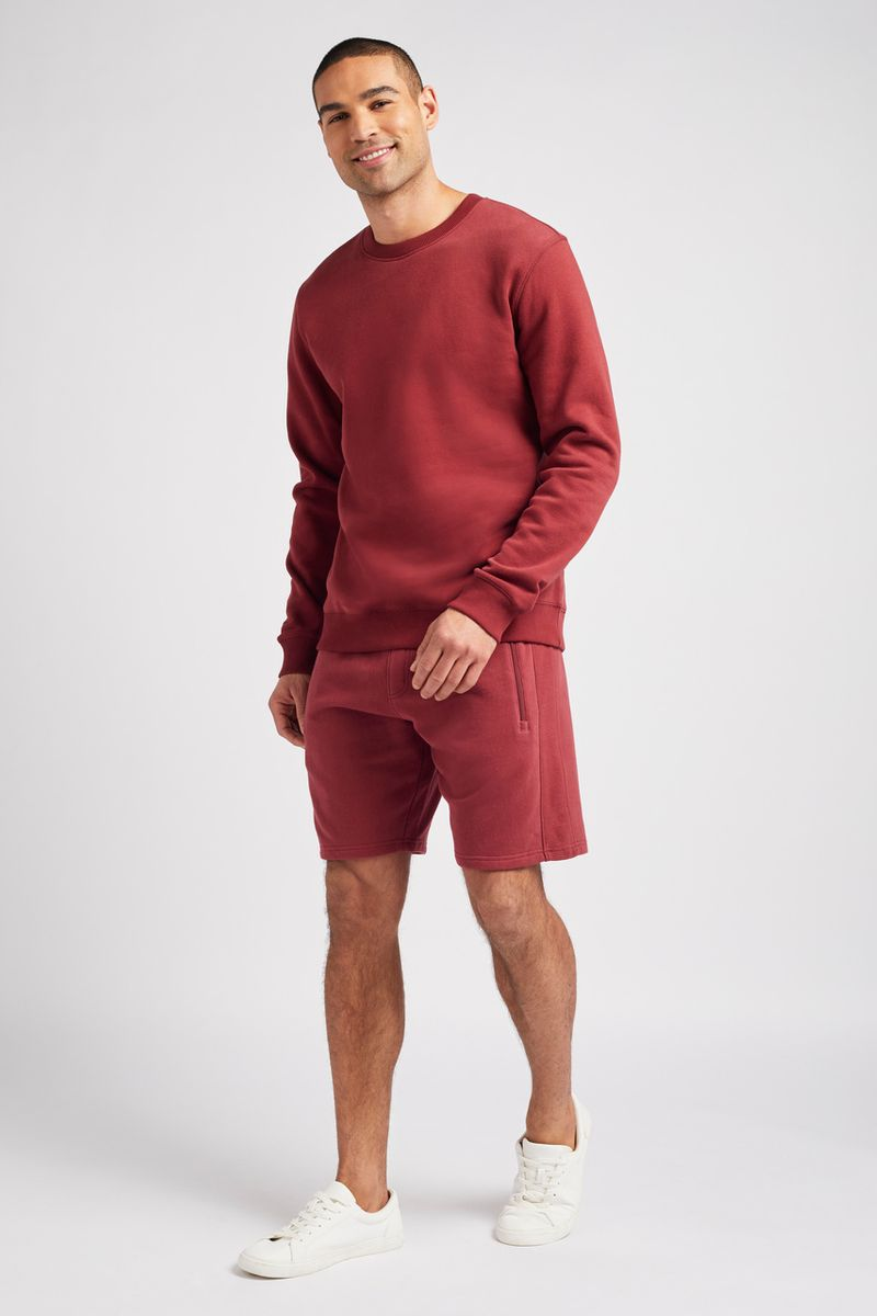 Dark Red Sweat shorts