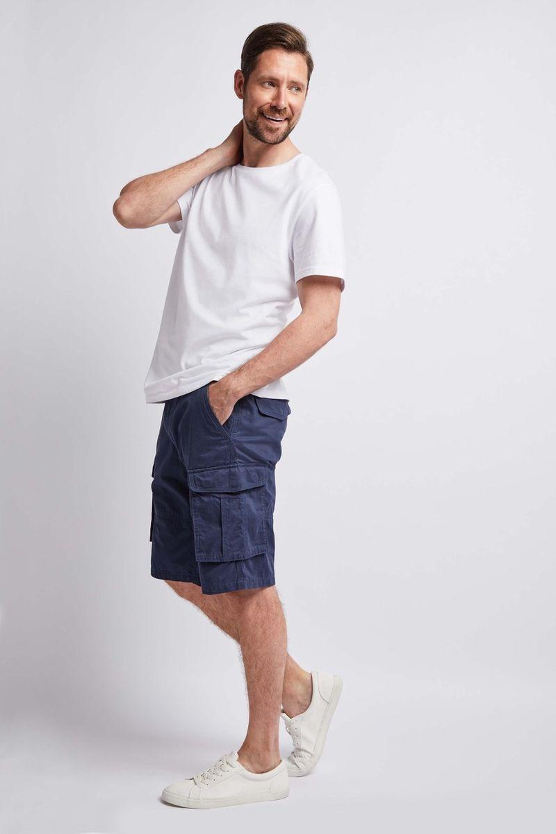 Navy Cargo Shorts