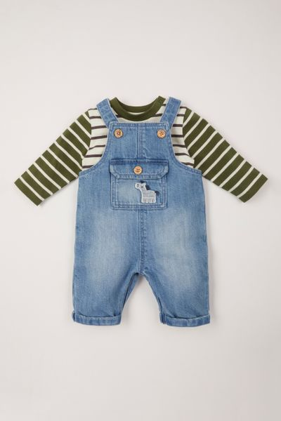 Tractor Dungaree set