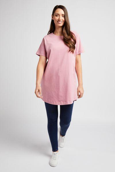 Longline Pink T-shirt