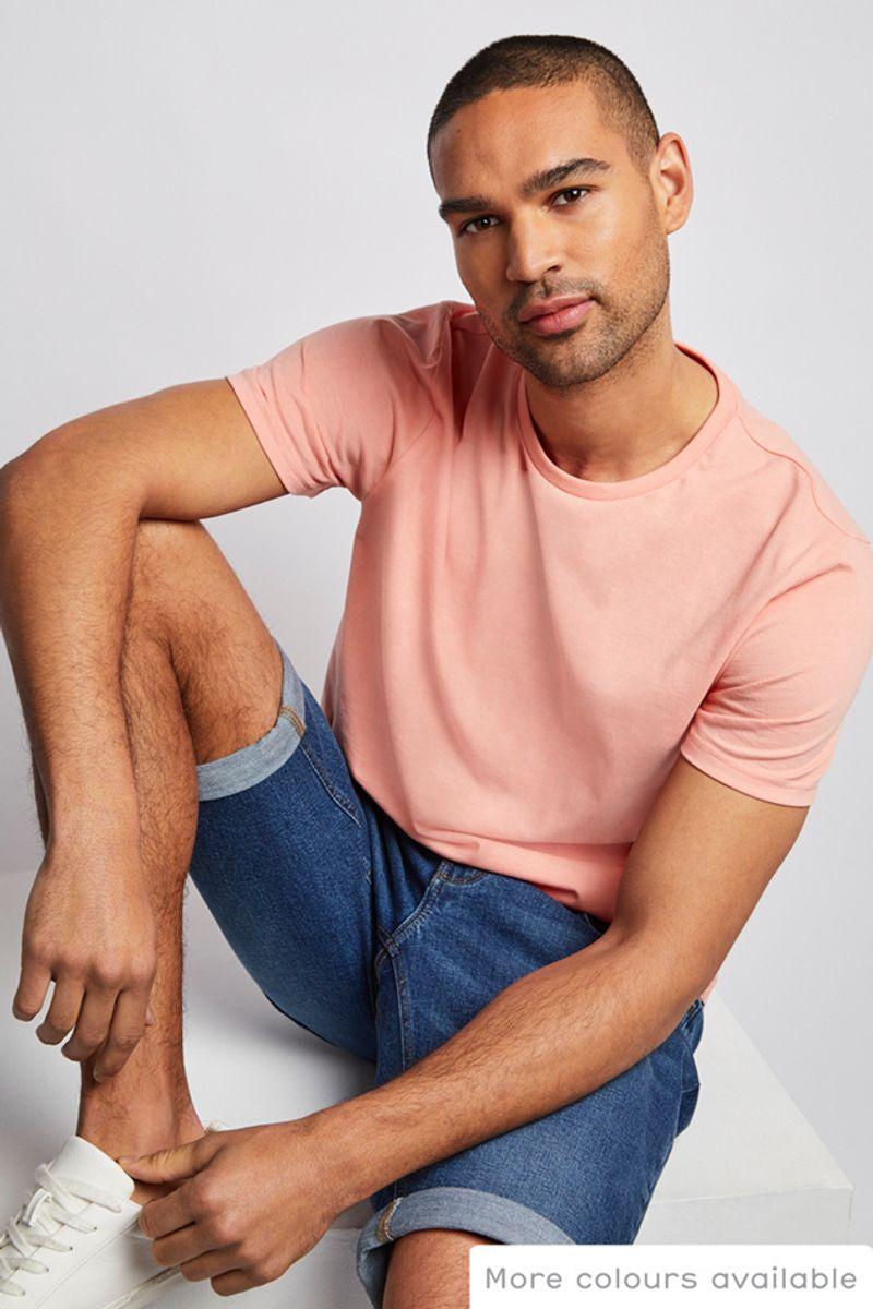Online Exclusive Peach T-shirt