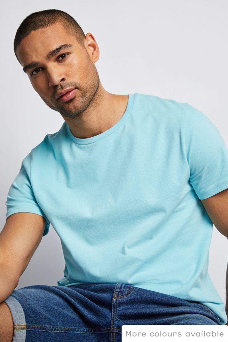 Online Exclusive Blue T-Shirt