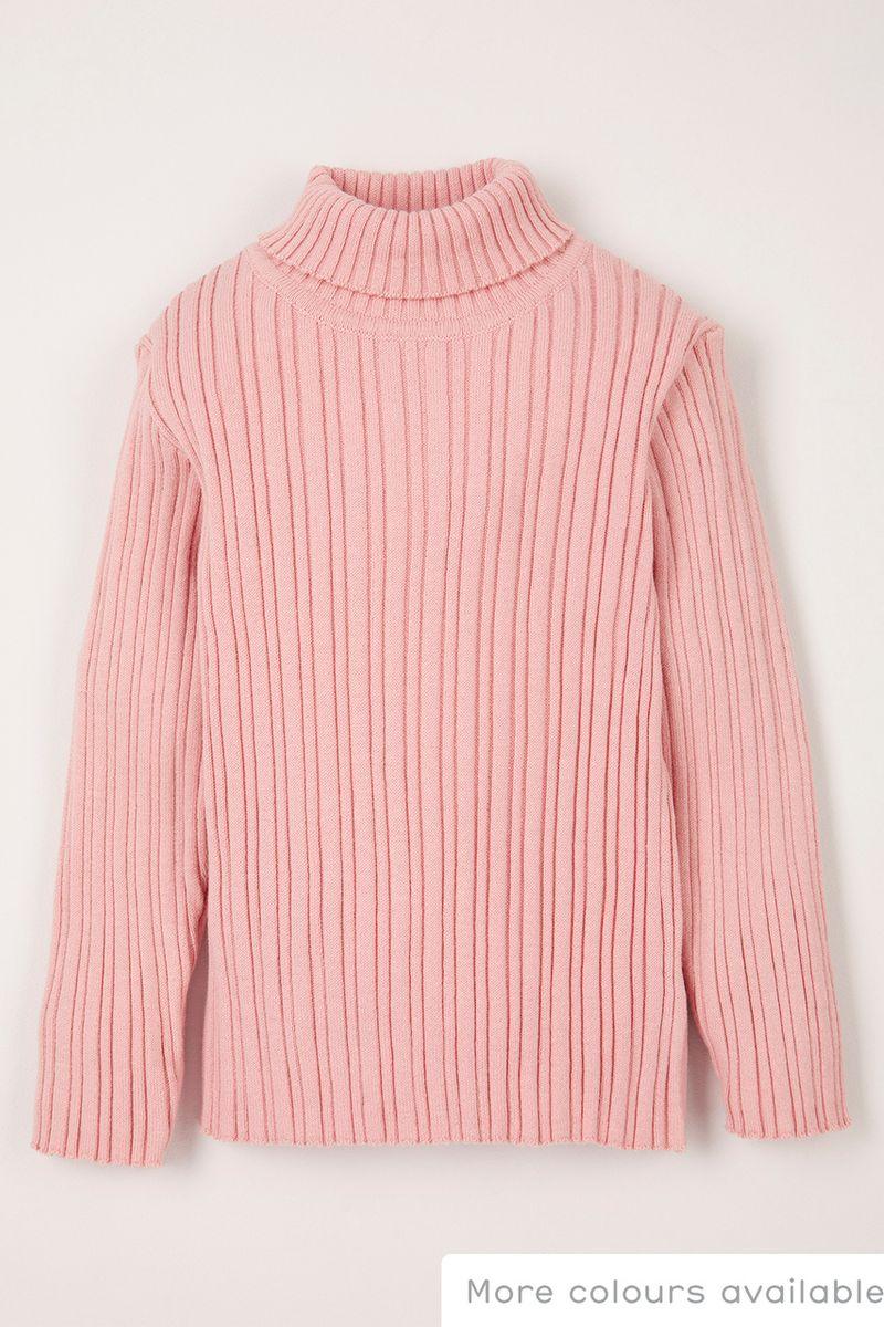 Pink Turtle neck jumper