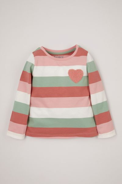 Heart Stripe T-Shirt 1-10yrs