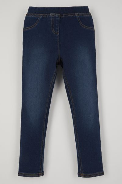 Mid-wash Jersey Jeggings