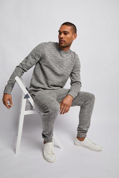 Grey Marl Fleck Sweatshirt