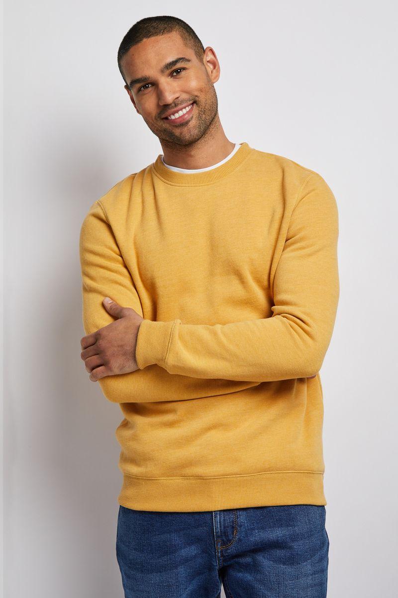 Ochre sweatshirt