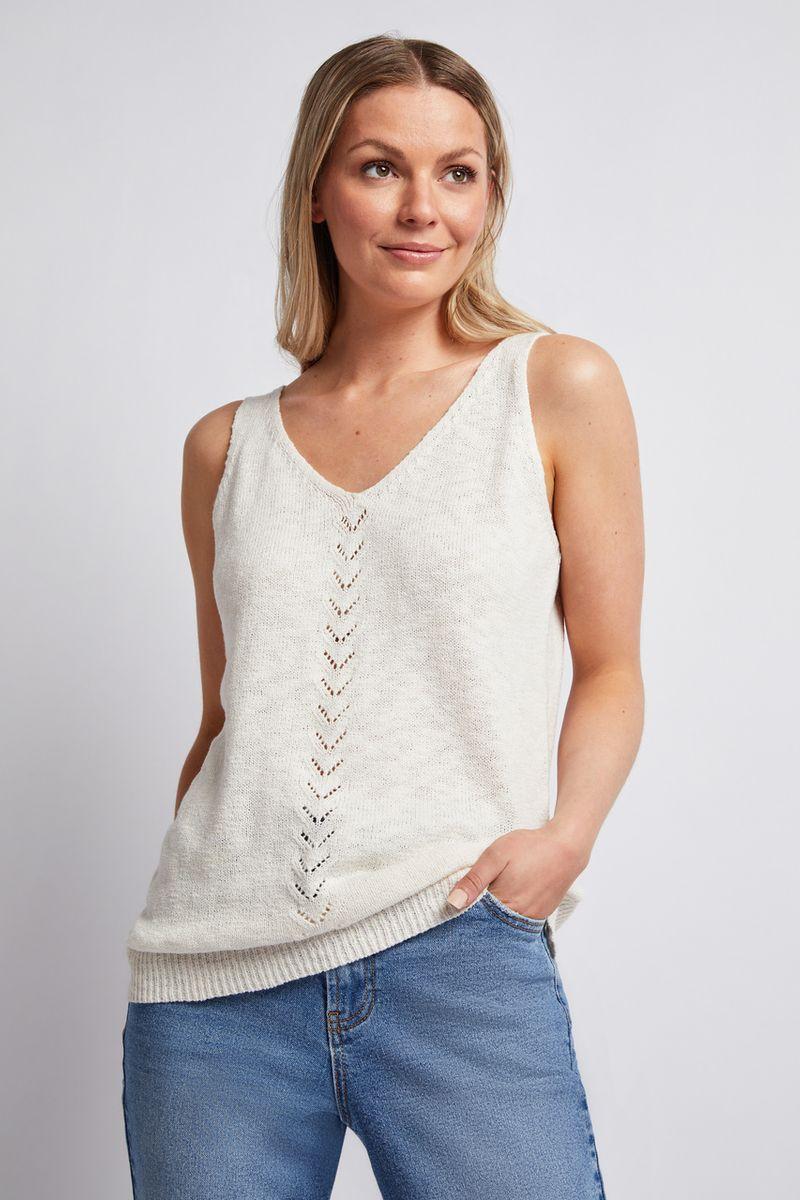 Crochet Knitted Vest