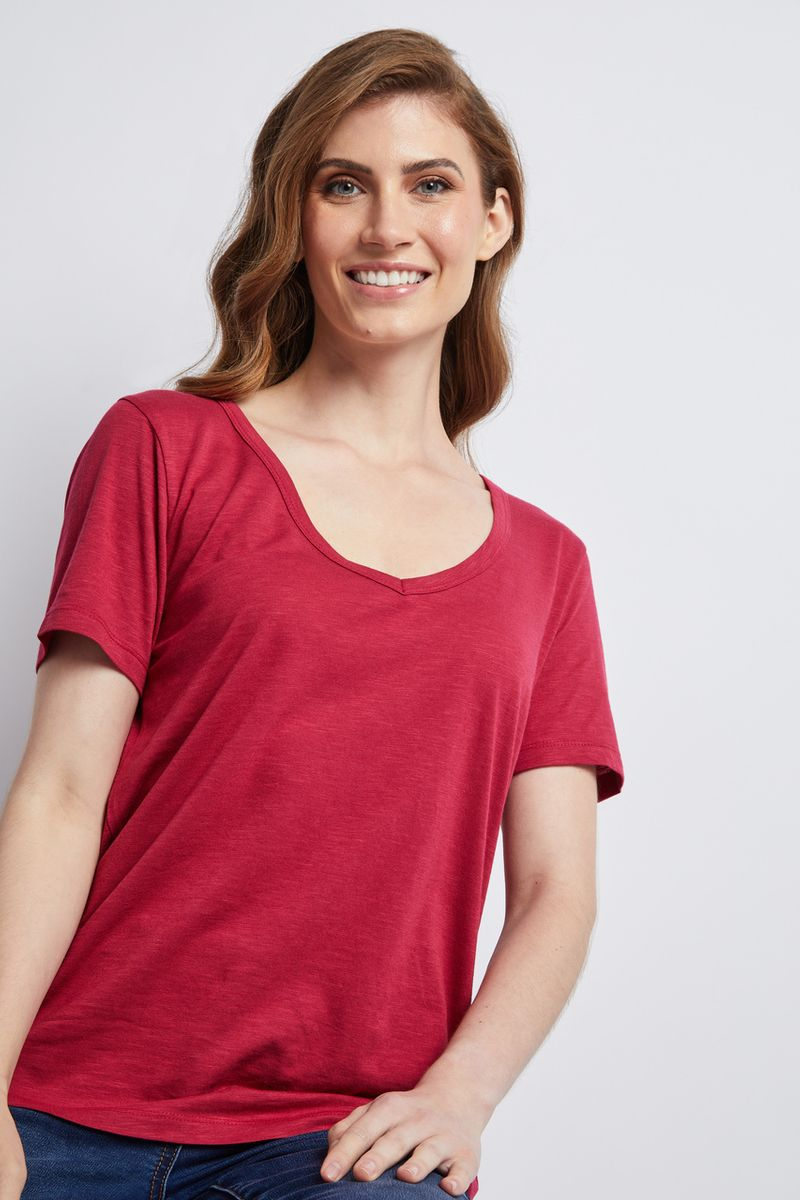 Berry Loose Fit T-shirt