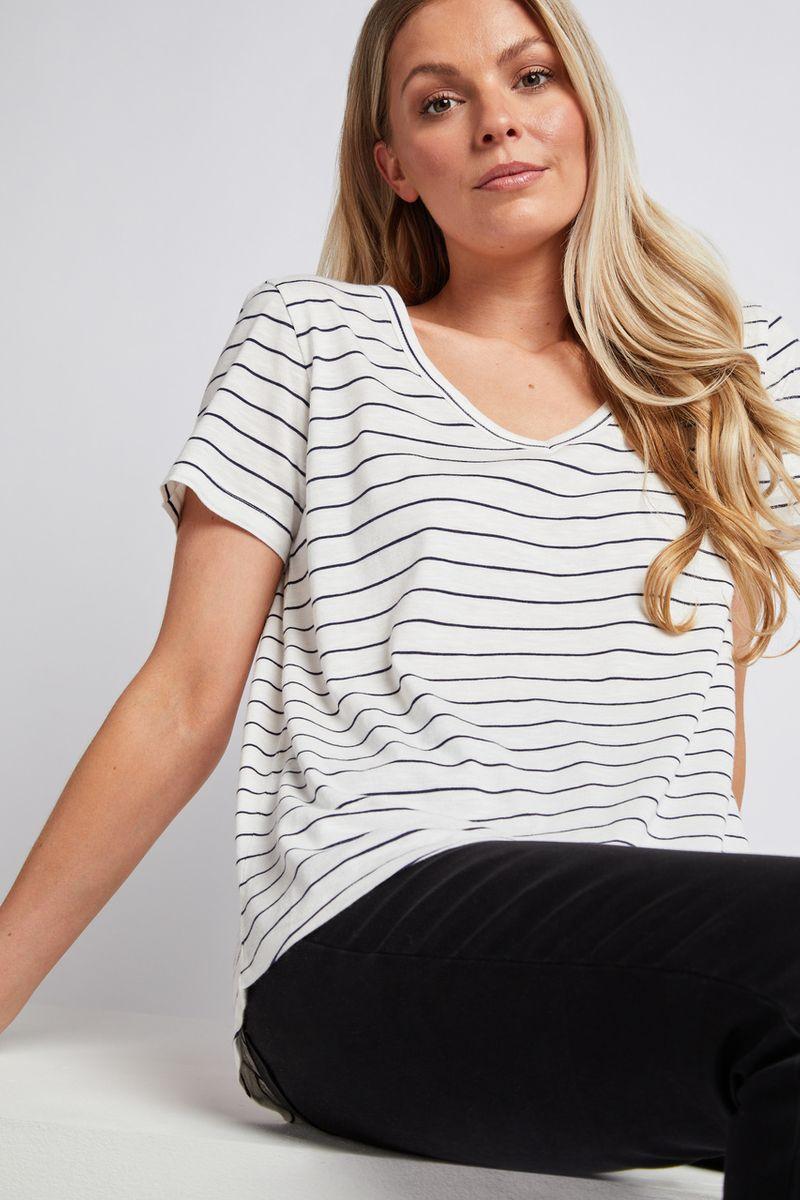 Stripe Loose Fit T-shirt