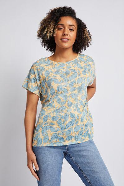 Floral Polkadot Lightweight T-shirt